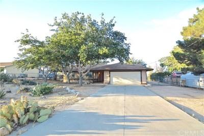 Hesperia CA Single Family Home For Sale: $259,950