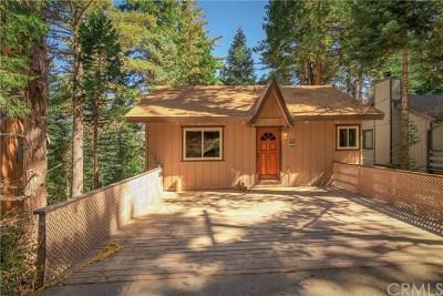 Lake Arrowhead CA Single Family Home For Sale: $285,000