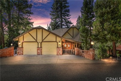 Lake Arrowhead Single Family Home For Sale: 27434 North Bay
