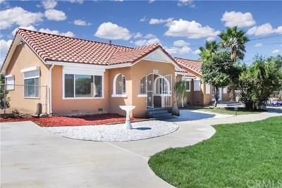 Redlands Single Family Home For Sale: 1550 Sylvan Boulevard