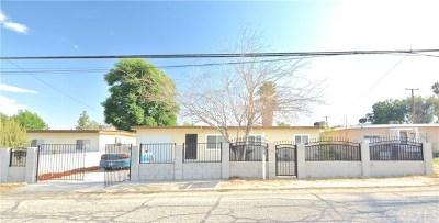San Bernardino Single Family Home For Sale: 673 W 41st Street