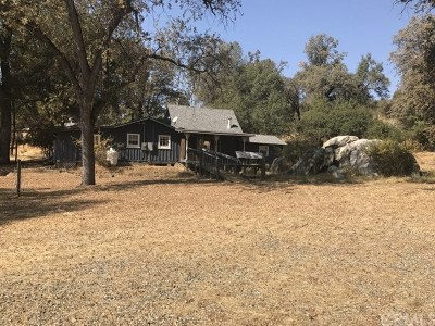 Ahwahnee Single Family Home For Sale: 43128 Leach Road