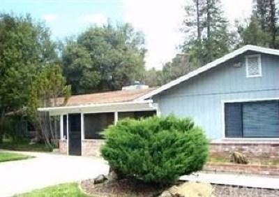 Oakhurst Single Family Home For Sale: 39353 Giant Oak Road
