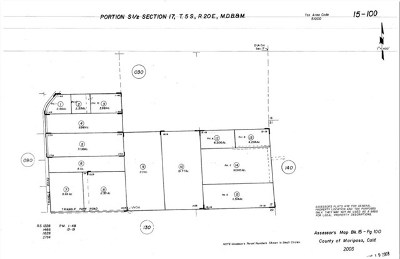 Mariposa Residential Lots & Land For Sale: 3047 E Westfall Road