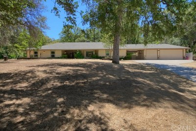 Mariposa Single Family Home For Sale: 4902 Hidden Springs Road
