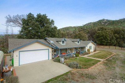 Ahwahnee Single Family Home For Sale: 1858 Nutter Ranch Road