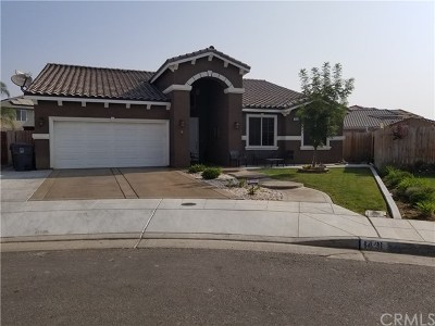 Madera Single Family Home For Sale: 1431 De Ann