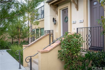 Irvine Condo/Townhouse For Sale: 113 Plateau