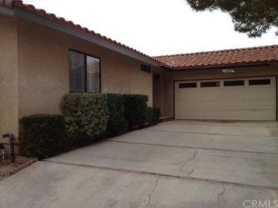 Mojave Single Family Home For Sale: 14237 Winchester Drive