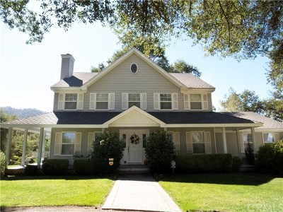 Oakhurst Single Family Home For Sale: 45144 Mockingbird Lane