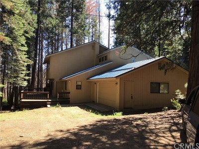 Fish Camp Single Family Home For Sale: 7654 Summit