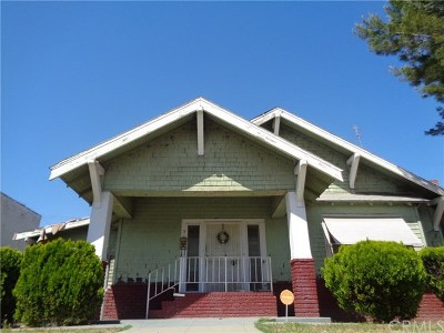 Fresno Single Family Home Active Under Contract: 515 N Fulton Street