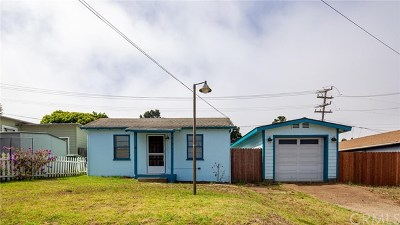 Morro Bay Single Family Home For Sale: 960 Balboa
