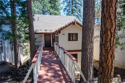 Bass Lake Single Family Home For Sale: 40531 Saddleback Road