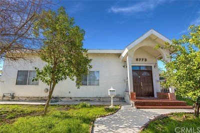 Panorama City Single Family Home For Sale: 8773 Matilija Avenue
