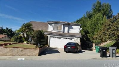 Diamond Bar Single Family Home For Sale: 24365 Sylvan Glen Road