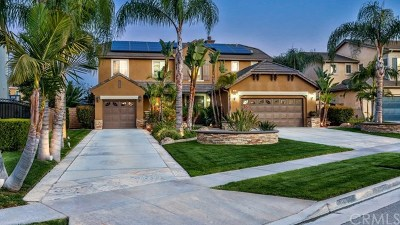 Corona Single Family Home For Sale: 3869 Via Zumaya Street