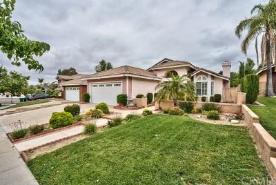 Corona Single Family Home For Sale: 3441 Mountainside Circle