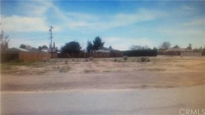 Victorville Residential Lots & Land For Sale: Maricopa & El Evado