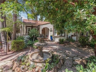 Santa Ana Single Family Home Active Under Contract: 2356 N Riverside Drive