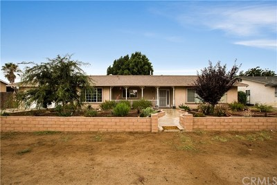 Jurupa Single Family Home For Sale: 6107 Lucretia Avenue