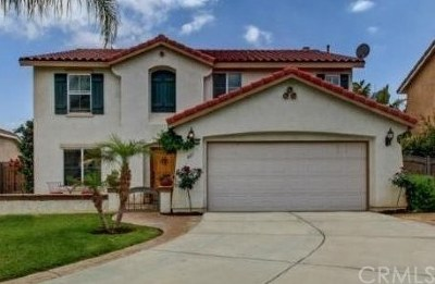 Lake Elsinore Single Family Home For Sale: 807 El Dorado Court