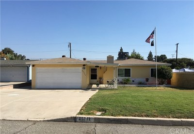 San Bernardino Single Family Home For Sale: 25747 27th Street