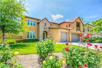 Corona Single Family Home For Sale: 7707 Sanctuary Drive