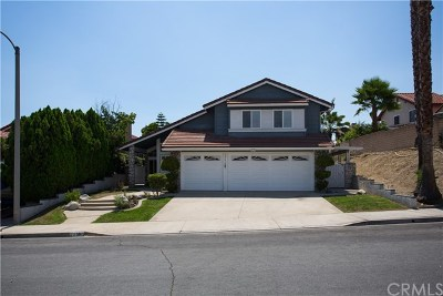Chino Hills Single Family Home For Sale: 3361 Ridge Pointe Road