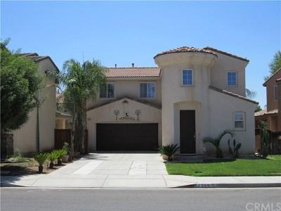 Perris Single Family Home For Sale: 1395 Palma Bonita Lane