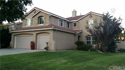 Corona Single Family Home For Sale: 24456 Wasatch Court