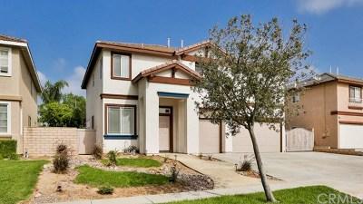 Corona Single Family Home For Sale: 932 Hemingway Drive