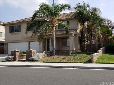 Eastvale Single Family Home Active Under Contract: 12705 Dandelion Street