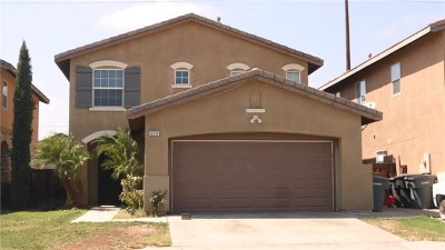 Perris Single Family Home For Sale: 2228 Jornada Drive