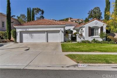 Corona Single Family Home For Sale: 4452 Signature Drive