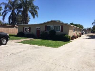 Chino Multi Family Home For Sale: 11595 Ramona Avenue