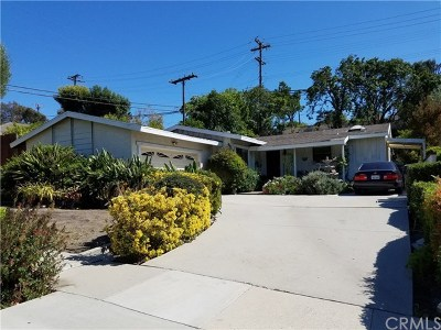 Rancho Palos Verdes Single Family Home For Sale: 5320 Ironwood Street