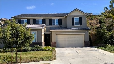 Corona Single Family Home For Sale: 25536 Foxglove Lane