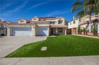 Moreno Valley Single Family Home For Sale: 12121 Amber Hill