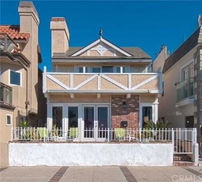 Newport Beach Single Family Home For Sale: 2310 W Oceanfront