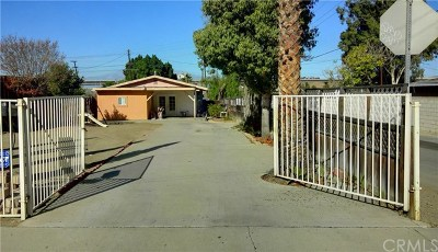 Corona Single Family Home For Sale: 1063 Quarry Street