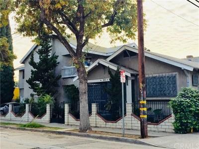 Santa Ana Multi Family Home For Sale: 216 S Halladay Street