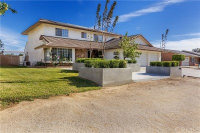 Jurupa Single Family Home For Sale: 5948 Aurora Avenue