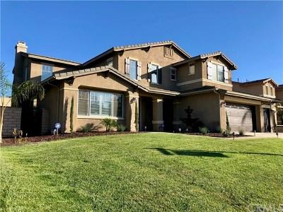 Corona Single Family Home For Sale: 3381 Horizon Street