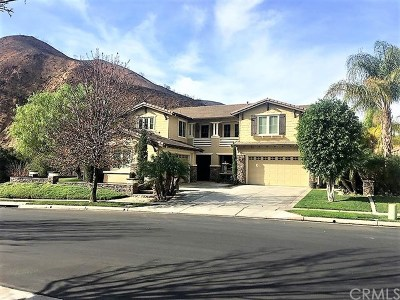 Corona Single Family Home For Sale: 2330 Saltbush Circle