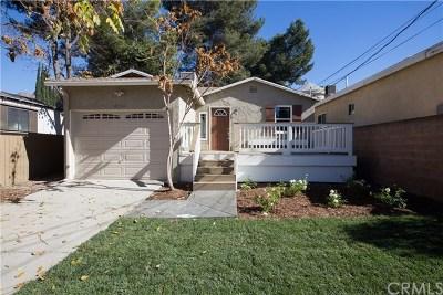 Sunland Single Family Home For Sale: 10244 Whitegate Avenue