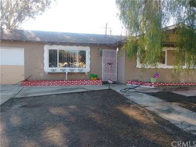 San Bernardino Single Family Home For Sale: 2019 W 14th Street