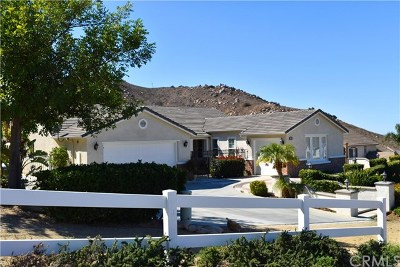 Norco Single Family Home For Sale: 2820 Crestview Drive