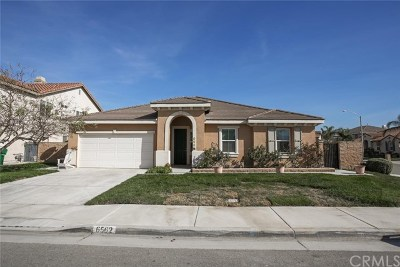 Eastvale Single Family Home For Sale: 6562 Gold Dust Street
