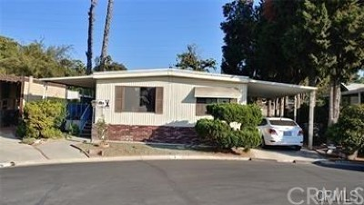 Riverside Mobile Home For Sale: 9391 California Avenue